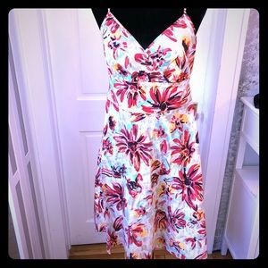New York and Company floral dress size 8